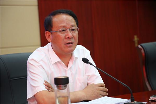 校党委书记、校长蒋庆锁讲话