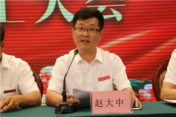 赵大中副校长宣读本学期工作总结