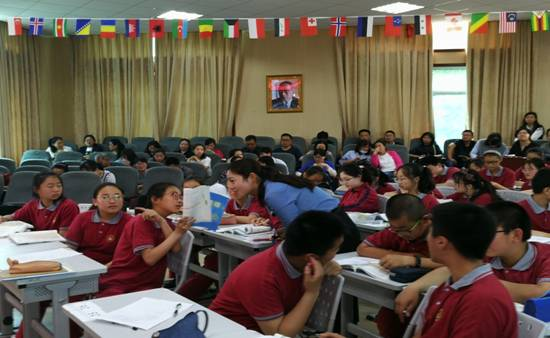 吴晓萱老师执教七年级阅读研讨课
