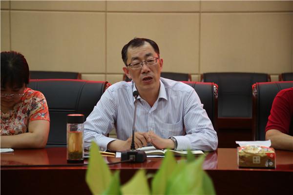 校党委副书记、纪委书记祁昌永讲话