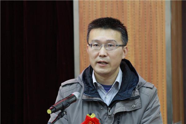 新海高中工会祁若华同志致辞