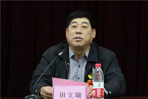 市委教育工委田文瑞副书记致辞