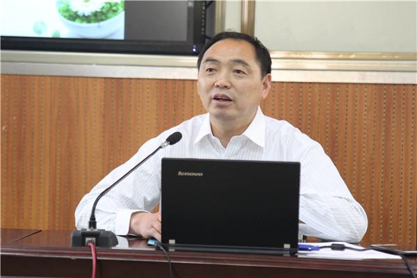 项目主持人薛家平开设讲座