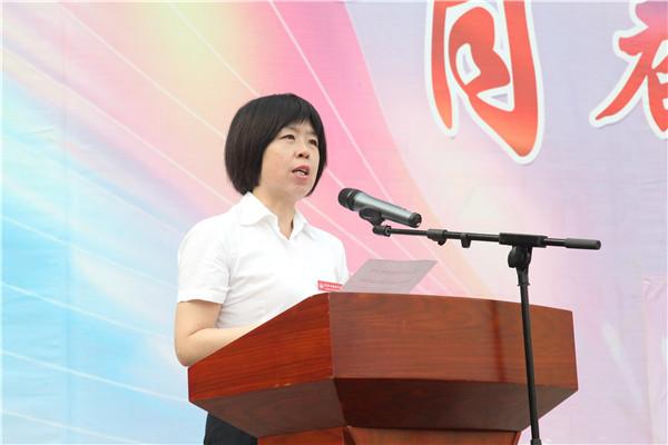 赵莉蓉副校长宣读表彰决定