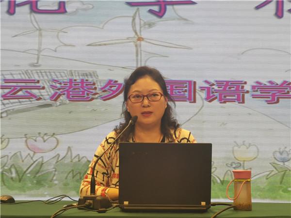 I国家二级心理咨询师张雪梅副校长作讲座