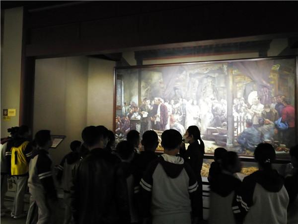 参观革命纪念馆