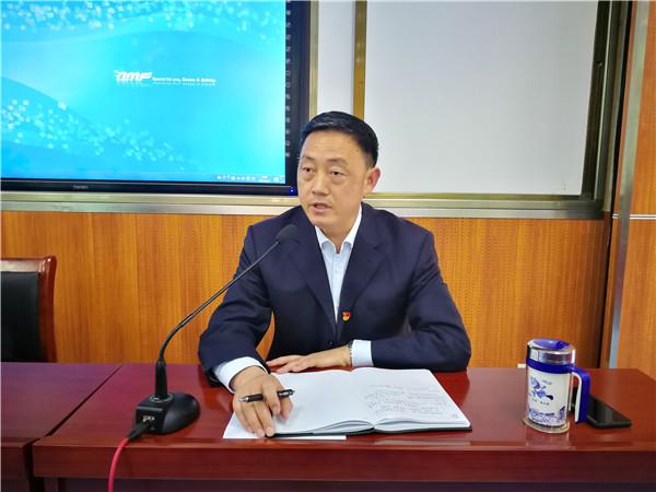党委委员李长红对演练活动提要求